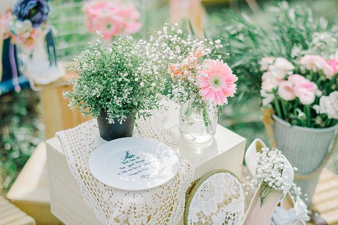 Đám cưới màu hồng phong cách mộc mạc - 2