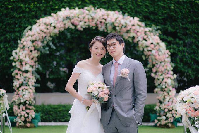 Đám cưới màu hồng phong cách mộc mạc - 9