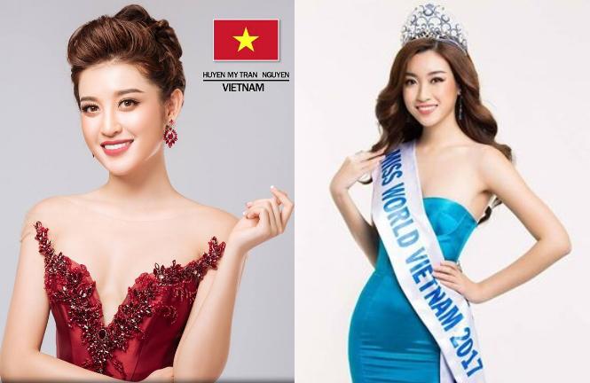 Huyền My và Mỹ Linh vào Top 64 Miss Grand Slam 2017.
