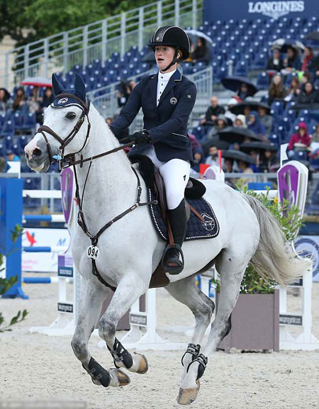 Sau 16 năm luyệ tập, hiện Jennifer đã là một tay cưỡi ngựa chuyên nghiệp. Ảnh: Jean Catufel.