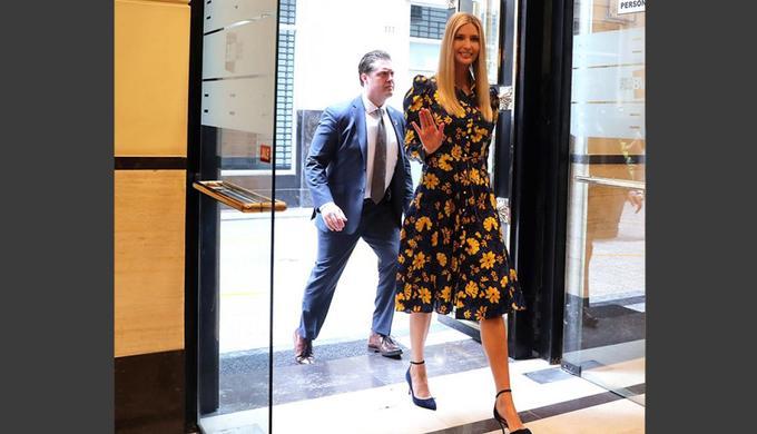 Gu thời trang ngày càng nữ tính của Ivanka Trump