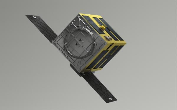 Vệ tinh gom rác ELSA-d kéo mục tiêu về phía Trái Đất, khiến nó bị đốt cháy khi va chạm khí quyển. Ảnh:Astroscale.