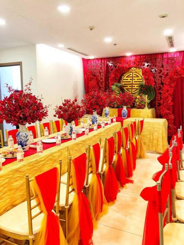 Trước khi kết hôn, Diệp Lâm Anh sống cùng gia đình ở một căn hộ cao cấp.