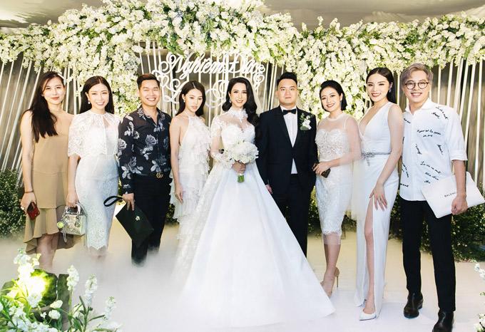 Cường Đô La sánh đôi bạn gái mới dự tiệc cưới của Diệp Lâm Anh - 15