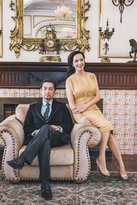 Diễn viên Khương Thịnh đảm nhận vai ông chồng chung của Thúy Hạnh và Mai Thu Huyền.