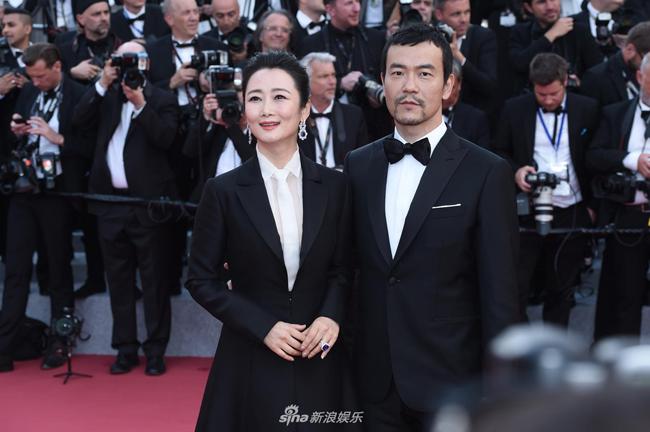 Hai nghệ sĩ Triệu Đào, Liệu Phàm.