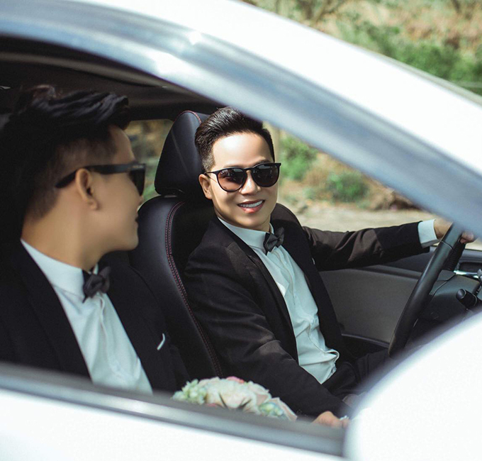 Sau khi lên ý tưởng cho bộ ảnh cưới, Quốc Khánh và Thành Lợi chỉ mất một ngày để chụp.