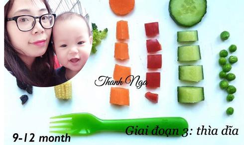 Mẹ 8X chia sẻ thực đơn ăn dặm BLW cho bé từ 6 đến 12 tháng tuổi