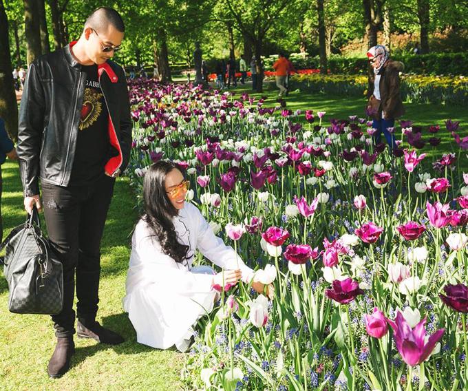 Sao Việt nô nức tới Hà Lan ngắm mùa hoa tulip đẹp nao lòng - 9