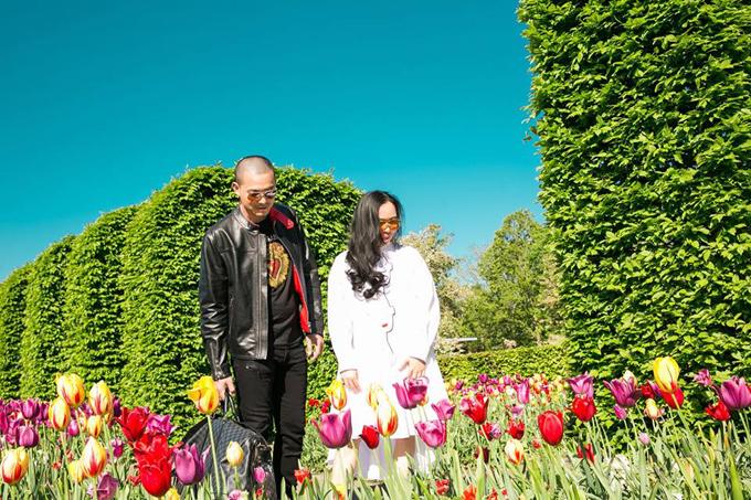 Sao Việt nô nức tới Hà Lan ngắm mùa hoa tulip đẹp nao lòng - 8