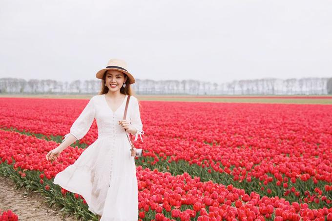 Sao Việt nô nức tới Hà Lan ngắm mùa hoa tulip đẹp nao lòng - 6