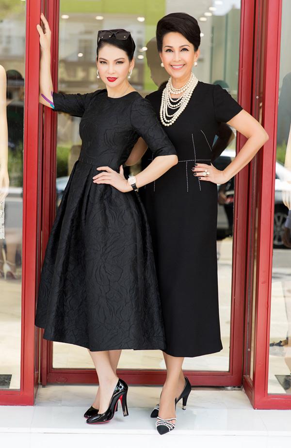 Thủy Hương và Diễm My được mệnh danh là những người đẹp không tuổi của showbiz Việt.