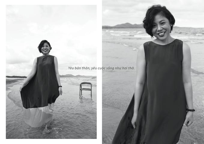Những mẫu váy lụa mềm mại, kiểu dáng nâng niu cơ thể giúp người mặc có được cảm giác tự do, tự tại.