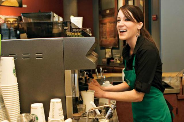 Mật mã riêng chỉ nhân viên Starbucks mới biết - 1