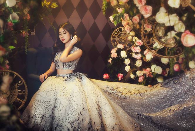 Hoa hậu Đỗ Mỹ Linh hoá công chúa trong xứ thần tiên