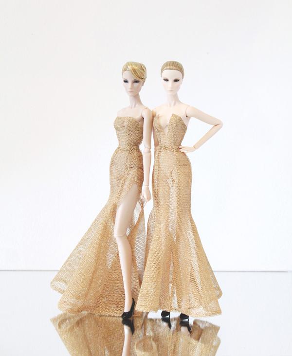 Váy dạ hội cho búp bê đẹp không thua kém trang phục của sao Việt - 10