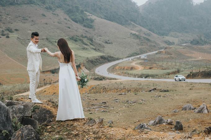 Lâm Vũ và vợ Việt kiều lặn lội lên Sapa chụp ảnh cưới - page 2 - 5