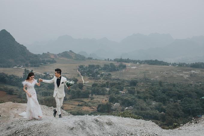 Lâm Vũ và vợ Việt kiều lặn lội lên Sapa chụp ảnh cưới - page 2 - 6