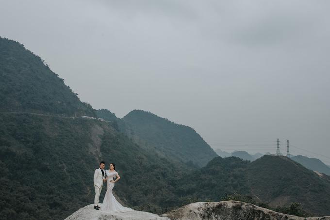 Lâm Vũ và vợ Việt kiều lặn lội lên Sapa chụp ảnh cưới - page 2 - 7