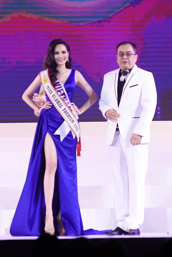 BTC quên trao vương miện Nữ hoàng Du lịch Toàn cầu cho Diệu Linh - 1