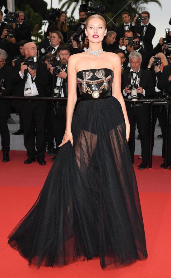Bạn gái cũ của Leonardo Dicaprio, siêu mẫu Toni Garrn.