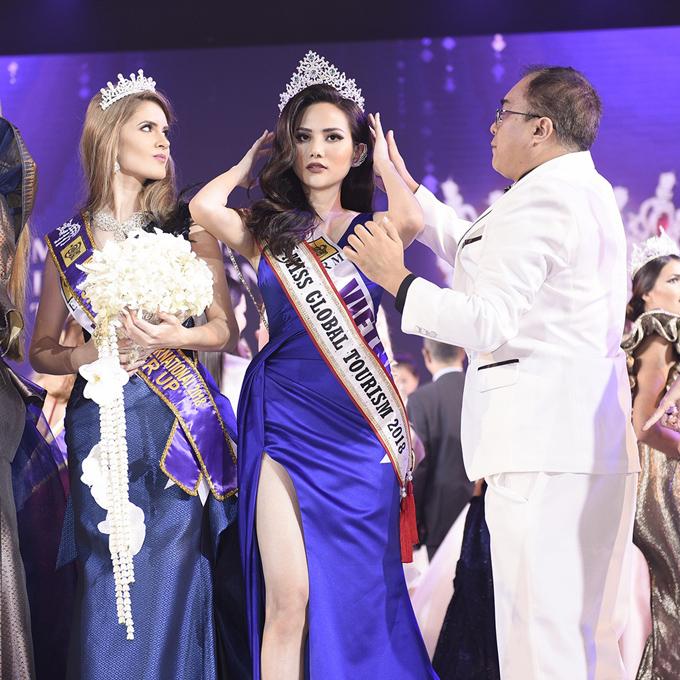 BTC quên trao vương miện Nữ hoàng Du lịch Toàn cầu cho Diệu Linh - 2