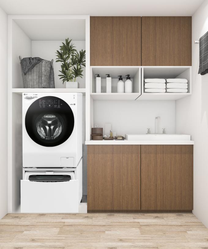 5 cách thiết kế phòng giặt ủi tiện nghi và đẹp mắt - 6
