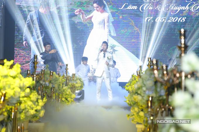 Lâm Vũ kể chuyện cầu hôn trước, yêu sau trong hôn lễ - ảnh 4