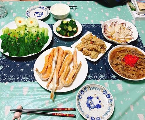 Mâm cơm Việt - Nhật kết hợp của nàng dâu Hải Dương - ảnh 2