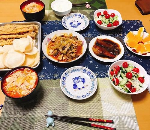 Mâm cơm Việt - Nhật kết hợp của nàng dâu Hải Dương - ảnh 11