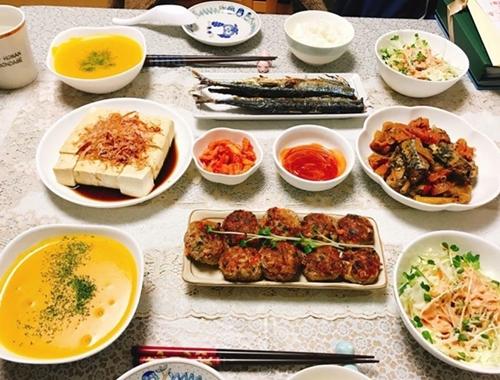 Mâm cơm Việt - Nhật kết hợp của nàng dâu Hải Dương - ảnh 4