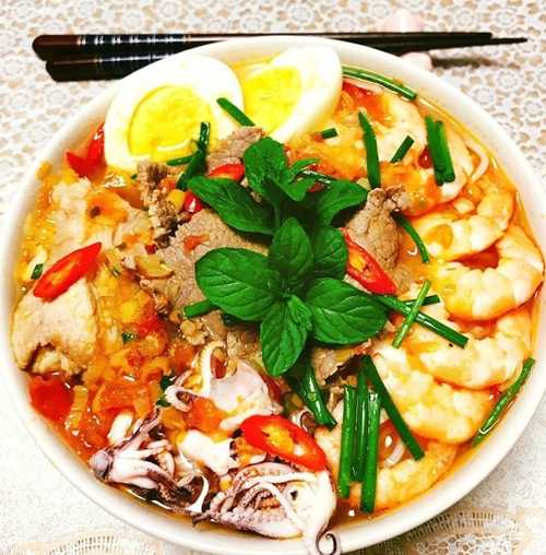 Mâm cơm Việt - Nhật kết hợp của nàng dâu Hải Dương - ảnh 8