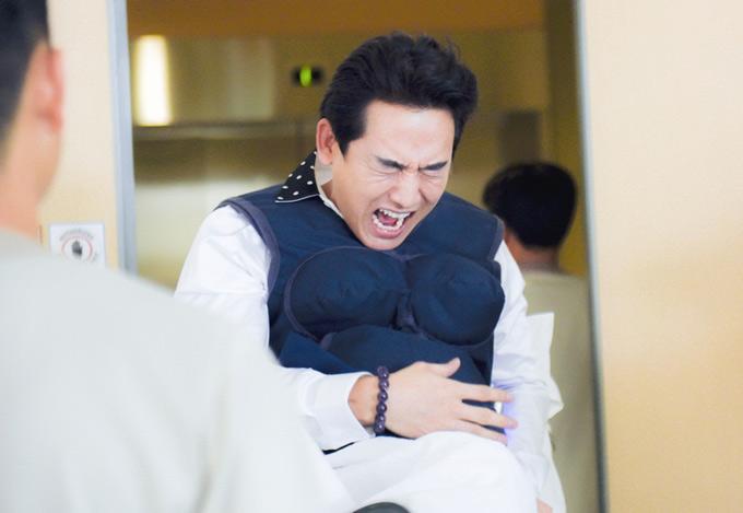 Trường Giang, Kỳ Duyên đau đớn gào thét khi thử vượt cạn - ảnh 3