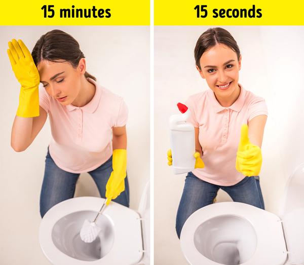 14 mẹo giúp nhà cửa tinh tươm chỉ trong vài phút - ảnh 5