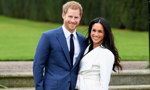 Hoàng tử Harry và hôn thê Mỹ sẽ có đám cưới hoàng gia vào ngày mai (19/5). Ảnh: WireImage.