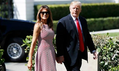 Vợ chồng Trump quyên góp từ thiện thay quà cưới cho hoàng tử Harry - ảnh 1