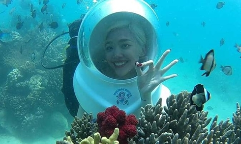 Các kiểu lặn đang hot ở Nha Trang vào mùa hè