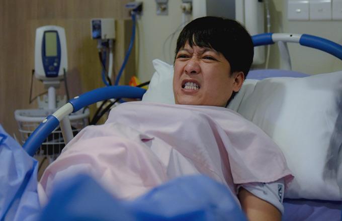 Trường Giang, Kỳ Duyên đau đớn gào thét khi thử vượt cạn - ảnh 5