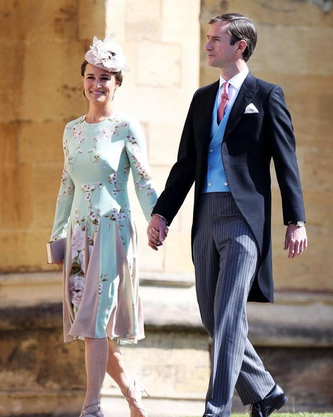 Khách mời diện ton sur ton đến dự đám cưới Hoàng tử Harry