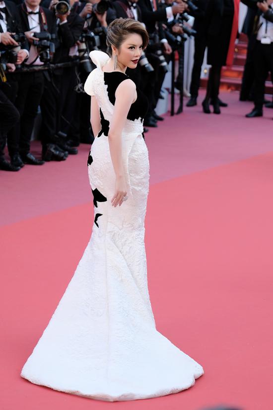 Hình ảnh của Lý Nhã Kỳ tại Cannes lần này được xuất hiện trên các tạp chí uy tín như Vogue, Gala, Screen...