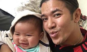 Kasim Hoàng Vũ lần đầu công khai con trai với bạn gái Việt kiều