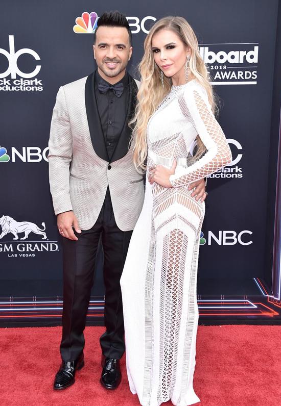 Giọng ca Despacito Luis Fonsi đến cùng bà xã - người mẫu Agueda Lopez.