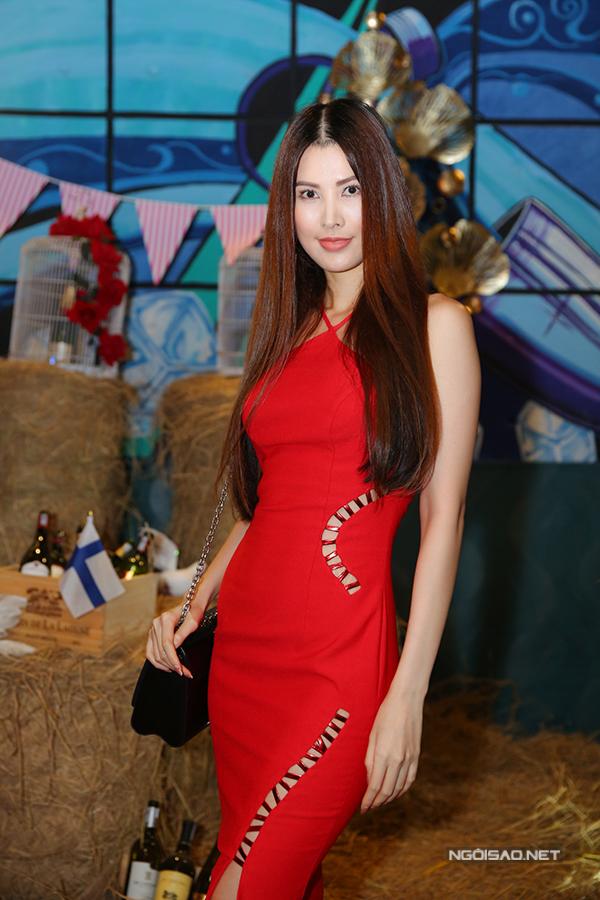 Người mẫu Thanh Hoài.
