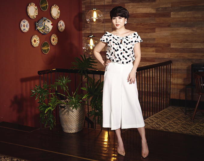 Váy áo vintage làm mới phong cách cho nàng công sở - 9