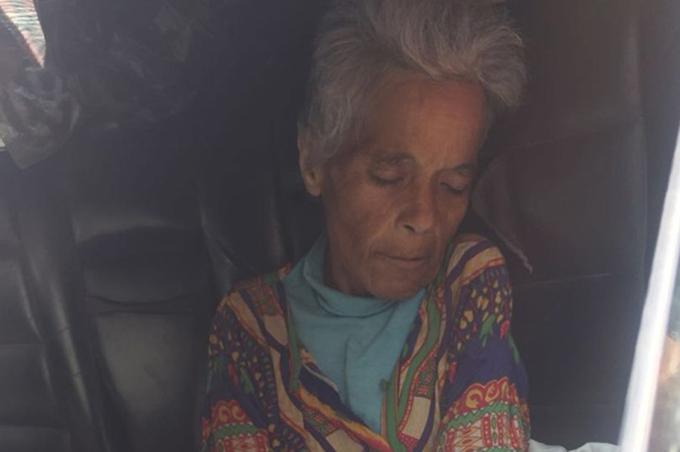Bà Othman lên cơn đau tim và qua đời trong chiếc xe bỏ hoang. Ảnh: CEN.