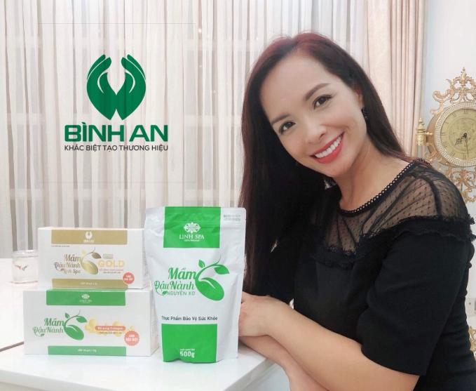 Mầm đậu nành Linh Spa được người mẫu Thúy Hạnh tin tưởng và lựa chọn sử dụng
