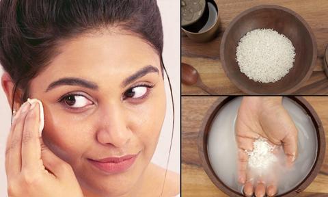 Học lỏm tuyệt chiêu dùng nước gạo làm đẹp da của phụ nữ Nhật