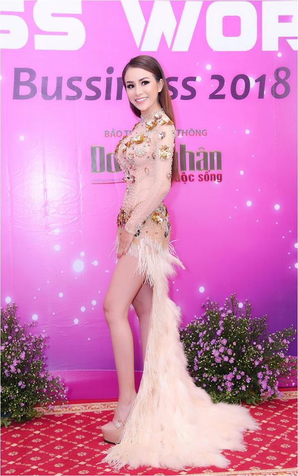 CEO Trương Nhân dự họp báo Miss World Bussiness 2018 - 1