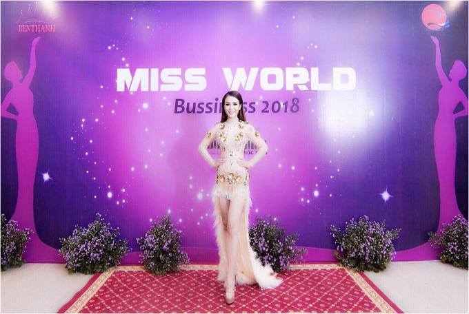 CEO Trương Nhân dự họp báo Miss World Bussiness 2018