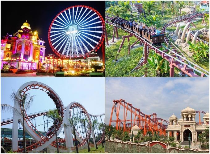 Giải nhiệt mùa hè ở 7 công viên chủ đề từ Bắc đến Nam - 5